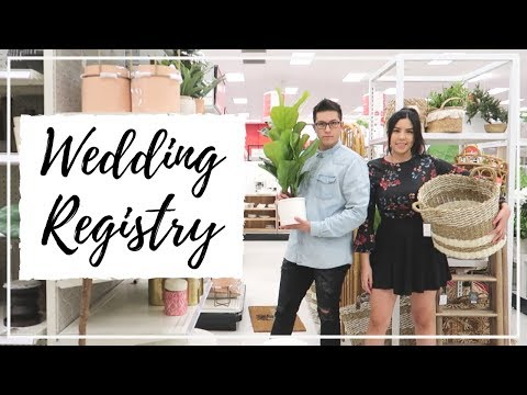 OUR FIRST VLOG TOGETHER: Making Our Wedding Registry