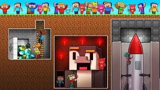 200 Fans Build Hidden Underground Bases in Minecraft