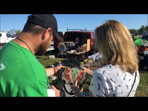 Williams Grove Flea Market Shop With Me Meeting Andrew From Crazy Lamp Lady Episode 31 Youtube