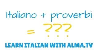 Impara l'italiano con ALMA.tv | Learn Italian with ALMA.tv