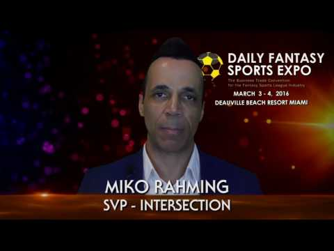 DFSE.net Daily Fantasy Sports Expo Delegate Interviews March 3-4, 2016 Miami Trade Conference