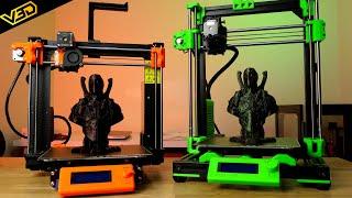 Caribou vs Prusa + Bear Exxa Print Quality Test