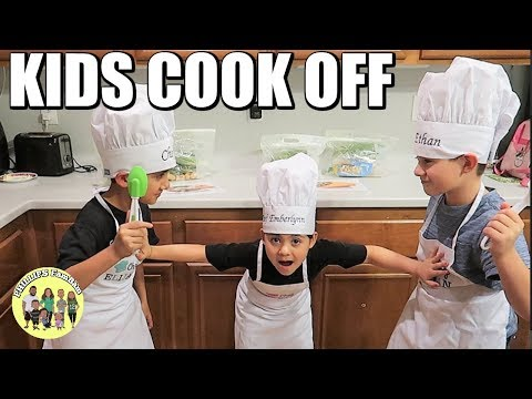 KIDS MASTER CHEF COOK OFF | CHICKEN & STEAK DINNER RECIPES | KIDS COOK WITH ME | PHILLIPS FamBam