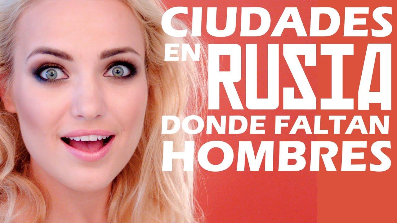 Ciudades en RUSIA donde FALTAN HOMBRES! 🔥 Rusia y Ucrania son paises con mas mujeres que hombres