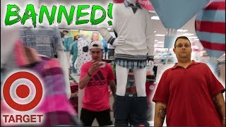 HOW TO GET BANNED FROM TARGET! (KICKED OUT)