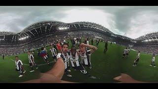 360 degree celebrations with Samsung at Juventus Stadium!