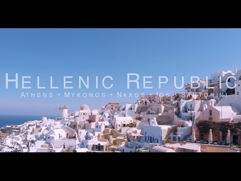 Greek island hopping GoPro