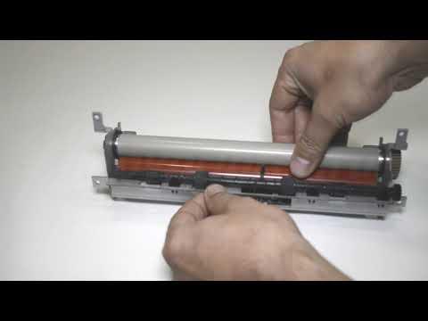 Принтер Samsung SCX-4200 мнёт бумагу перед печкой.