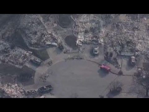 Calif. first responders face grim task of identifying bodies