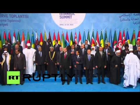 Turkey: Erdogan Greets Islamic World Leaders At OIC Summit