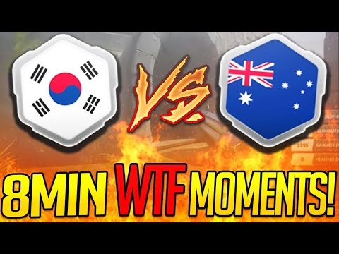 South Korea REKTS Australia IN 8 MINS! | INSANE CAPTURES! Overwatch World Cup 2016 PRO Highlights