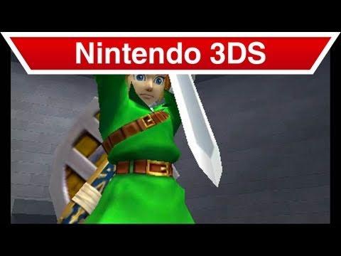 Nintendo 3DS - The Legend of Zelda: Ocarina of Time 3D Remake Trailer