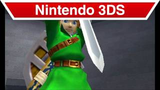 Nintendo 3DS - The Legend of Zelda: Ocarina of Time 3D Remake Trailer