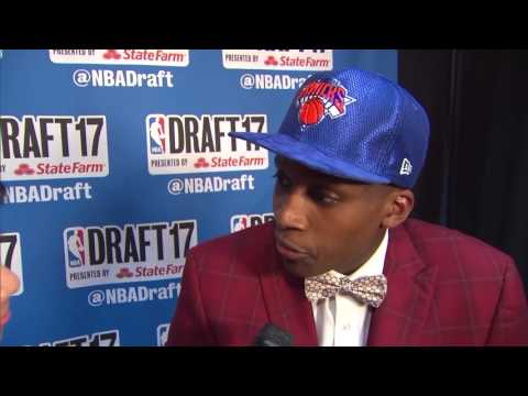 Thumbnail: Frank Ntilikina talks about joining New York Knicks