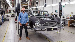How To Build A £3 Million Aston Martin DB5 Continuation