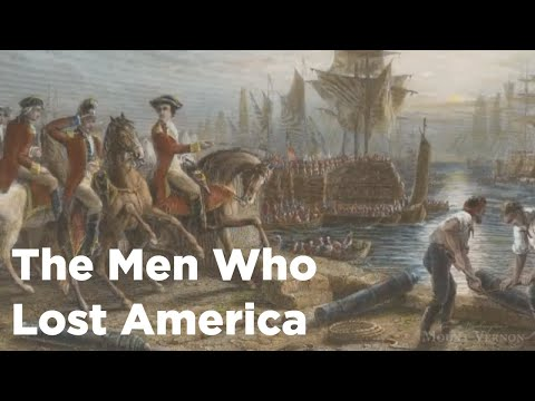 """Andrew Jackson O'Shaughnessy Interview: """"The Men Who Lost America"""""""