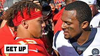 NFL Week 6 recap: The Chiefs lose 2 straight, Deshaun Watson's MVP case, 49ers' 5-0 start | Get Up