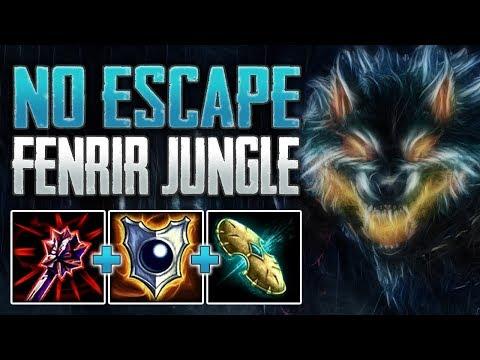 No Escape! Fenrir Jungle Gameplay (SMITE Conquest)