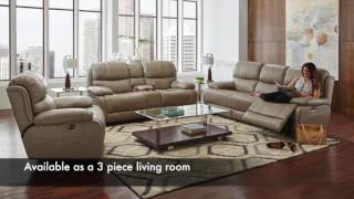 Florence Power Reclining Sectional