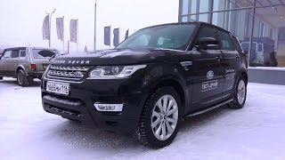 2014 Range Rover Sport HSE. Start Up, Engine, and In Depth Tour.