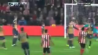 Cuco Martina Amazing goal vs Arsenal Boxing Day 2015