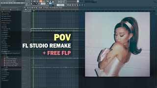 Ariana Grande - pov (Instrumental) + Free FLP Remake
