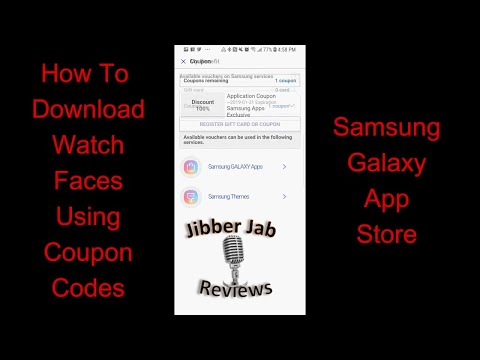 How to Apply A Coupon Code in the Samsung Galaxy App Store – Updated Process – Jibber Jab Reviews!