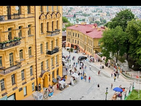 ABC of Ukraine: Andrew's Descent, Kiev  (Андріївський узівіз)