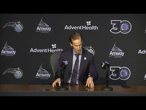 Open Mike - Jeff Weltman says re-signing Vucevic is the Orlando Magic's priority.