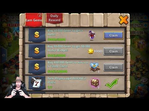 Just Got Spirit Mage Rolling 24000 Gems For Heroes Castle Clash