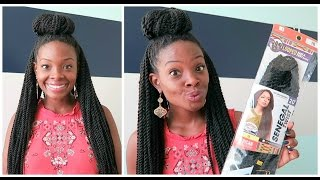 Crochet Senegalese Twists | Install & Experience