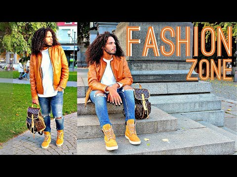 #1 FASHION ZONE: Men's Wear Outfit Tips & Ideas Streetstyle OOTD Timberland & Louis Vuitton