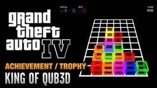 GTA 4 - King of QUB3D Achievement / Trophy (1080p)