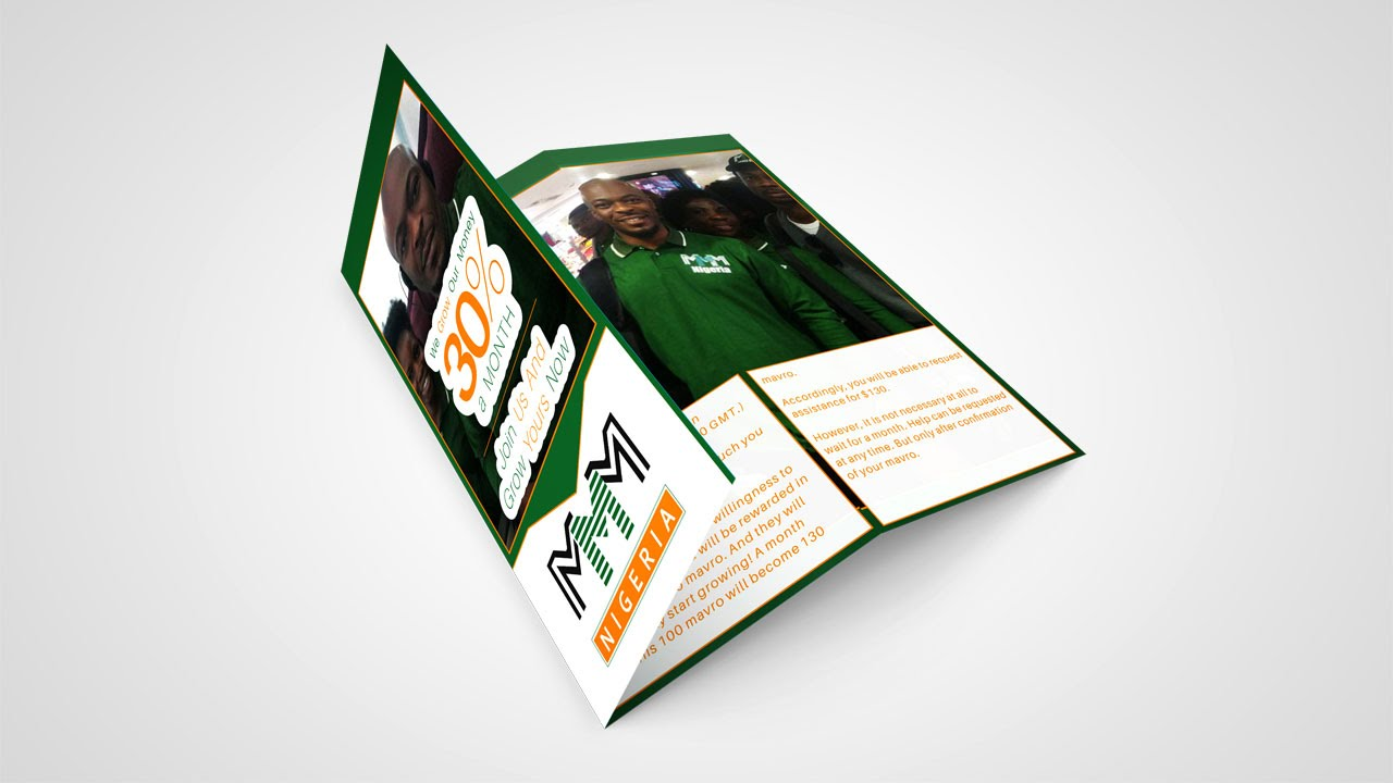 How to Design a Trifold Brochure   Corel X7 - YouTube