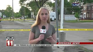 News   North Fargo Shooting 6am Live