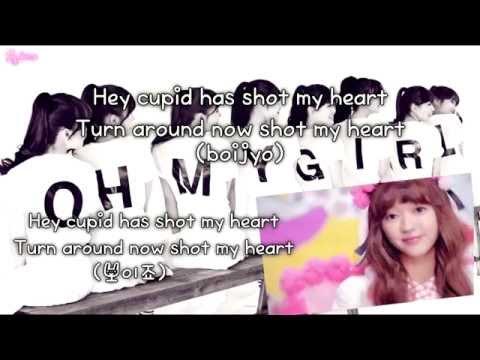 OH MY GIRL - CUPID (큐피드) (karaoke/instrumental)