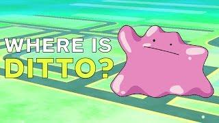 Pokemon Go: Where Is Ditto?