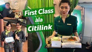 "Baru! Citilink Indonesia ""Dining Experience"" Servis Rasa First Class! QG480 CGK-BDJ"