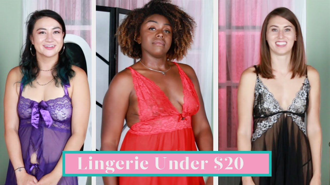 Women Try Amazon Lingerie Under $20