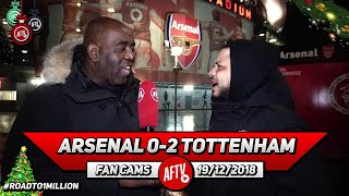 Arsenal 0-2 Tottenham | I'd Rather Play Ty In Defence Than Xhaka!! (Troopz)