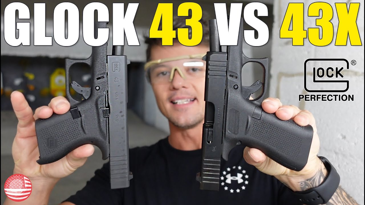 Download Glock 43 vs 43X (Which One Should You Get? Glock 43 or Glock 43X?)