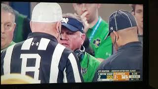Guy Eats Booger During Notre Dame vs. Clemson Game
