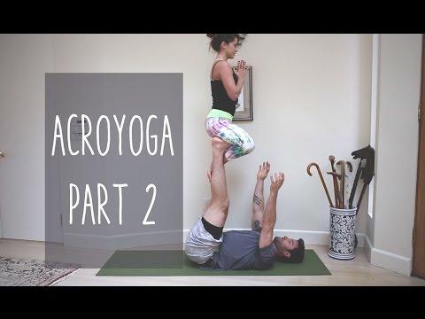 Instructional AcroYoga Video - Part 2