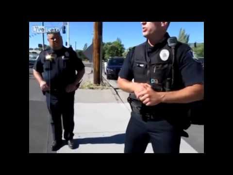 Patient Officer Stops Assault Rifle Wielding Guns Rights Activist