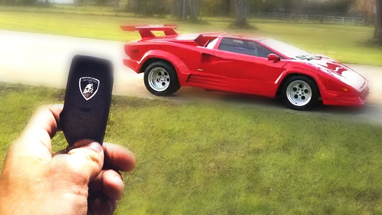 My Parents Gave Me This Ugly Lamborghini Youtube