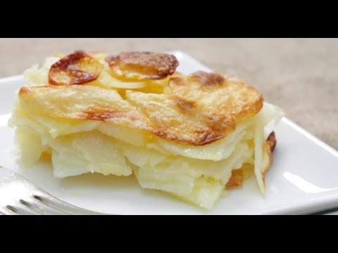recette du v ritable gratin dauphinois youtube. Black Bedroom Furniture Sets. Home Design Ideas