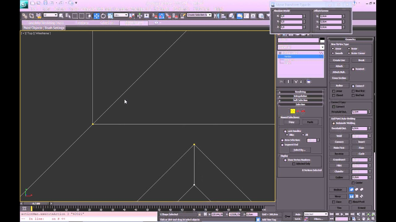 3 Part Walls Roof 3ds Max Tutorial Modeling Family House