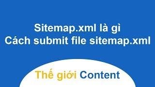 Sitemap.xml là gì?