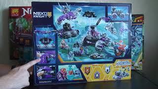 """Распаковка БОЛЬШОГО Нексо Найтс Bela 10597 """"Штаб Джестро"""", (Аналог Lego 70352) nindzjago.com.ua"""