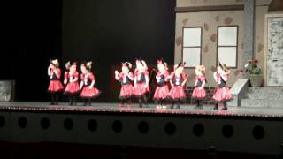 2013 GBA Dance Recital: the Little Tots preforming